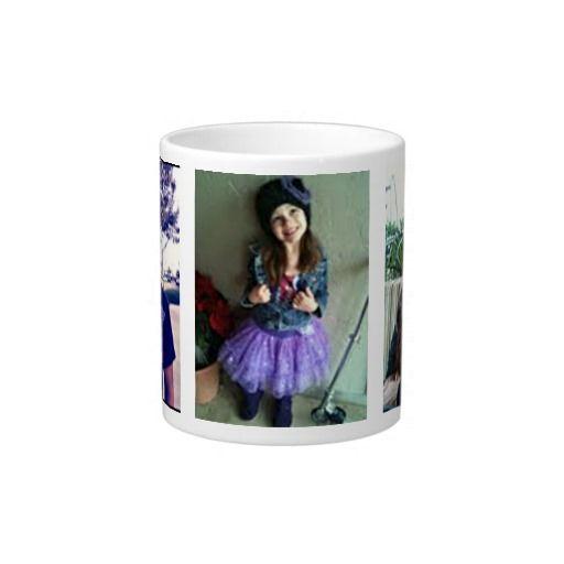 Jumbo Custom Photo Mug 20 Oz Large Ceramic Coffee Mug