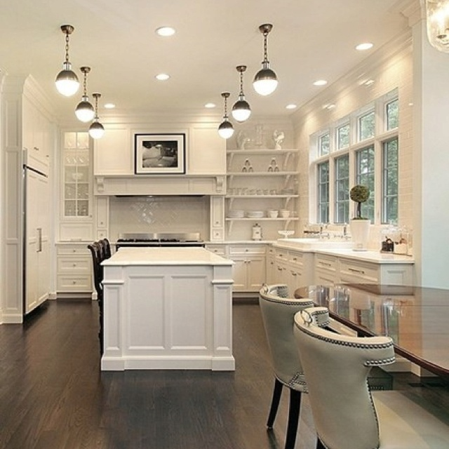 Cozy kitchen.