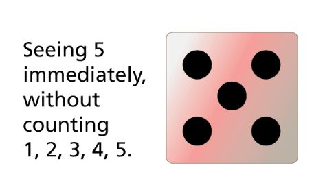 Children of Foundation year will understand that numbers can be represented in numeral or physical form