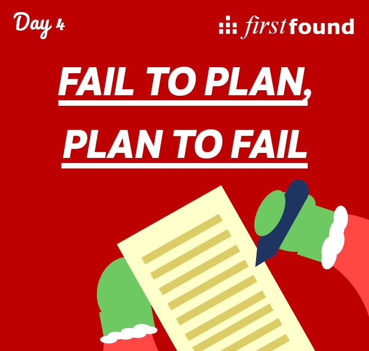 As the old adage goes - fail to plan, play to fail. Be ready for digital marketing in 2016 with our bumper-book of SEO and social media predictions: http://www.firstfound.co.uk/lp/201512/digital-marketing-resolutions/