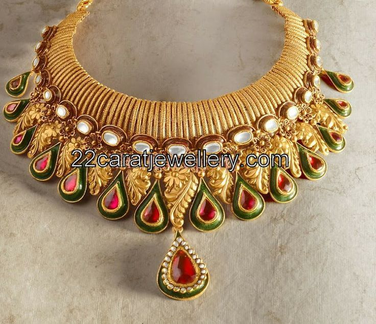Indian Gold Jewellery Necklace Sets Google Search: 1000+ Ideas About Indian Jewellery Design On Pinterest