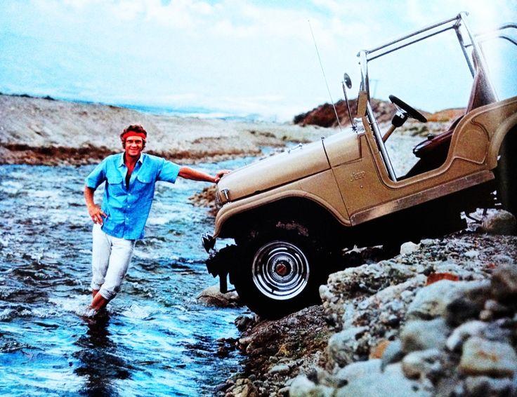 Steve McQueen/Jeep CJ5/Mexico/1969
