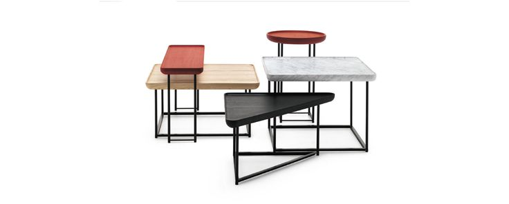 torei family sidetables - luca nichetto - cassina - 2012-14