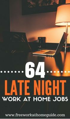 Late Night Jobs? These 64 Sites Offer Flexible Work from Home