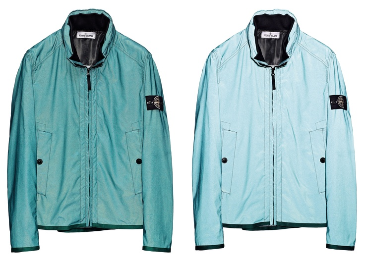 40846 REFLEX MAT - REFLECTIVE GARMENT    Jacket in Reflex Mat, fabric with a matte coating made up of thousands of glass micro spheres on a polyester base, enriched with high saturation colour agents.