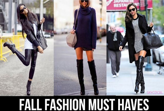 Crossdressing Tips Fall Fashion Must Haves