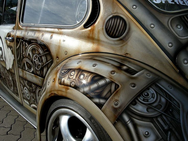 Steampunk Herbie ~ Airbrush Bathory