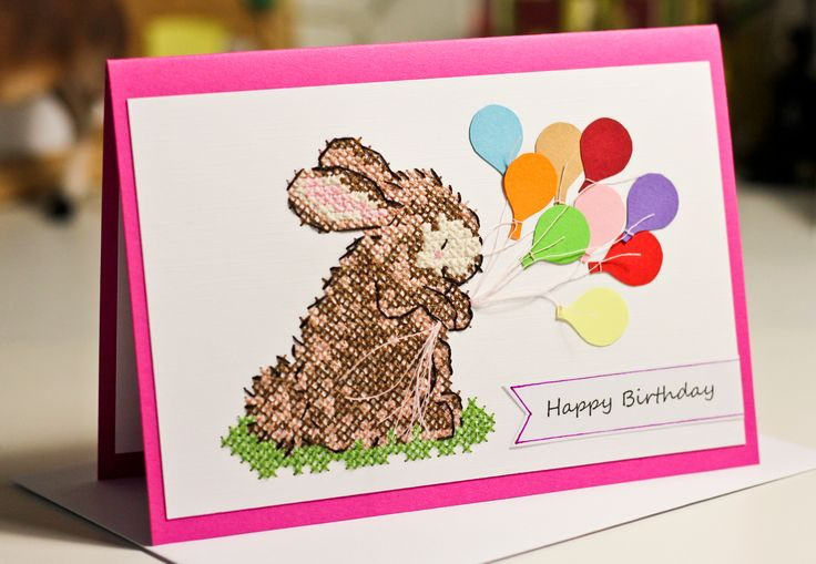 Happy Birthday! Buon Compleanno! handmade gift card for little sweetheart ;)