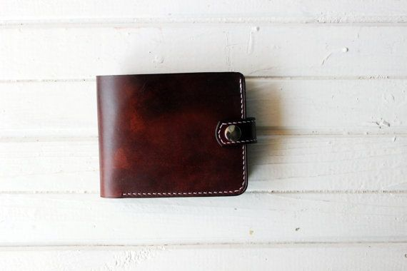 Mens Wallet  Slim Leather Wallet  leather wallet  by finskyleather