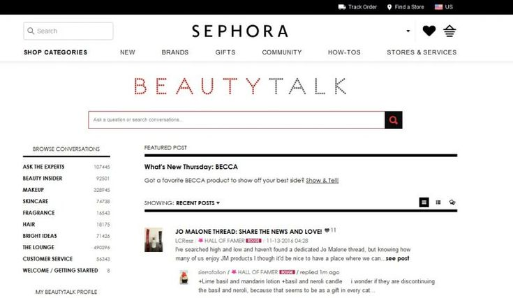 "10 Examples of Innovative Influencer Marketing Campaigns | Constellation Research Inc - Sephora a French chain of cosmetics stores built a community of insiders called ""Beauty Talk,"" who leave honest product reviews and help people to make purchasing decisions based on their needs.    Sephora also sends free cosmetic samples to popular beauty vloggers/bloggers, but the reviews they get in return are always authentic and genuine."
