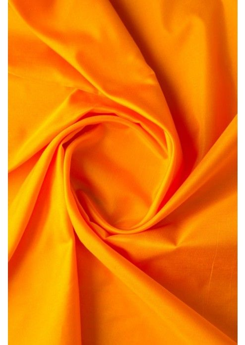 Mango Yellow Pure Silk Fabric - FB1098