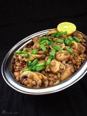 Recepty z Indie: Sosovicovo sampinonovy salat