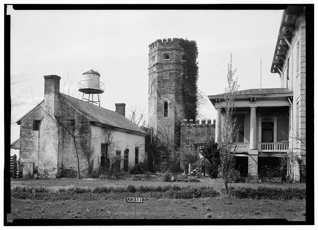 Rocky Hill Castle is a historic plantation home in