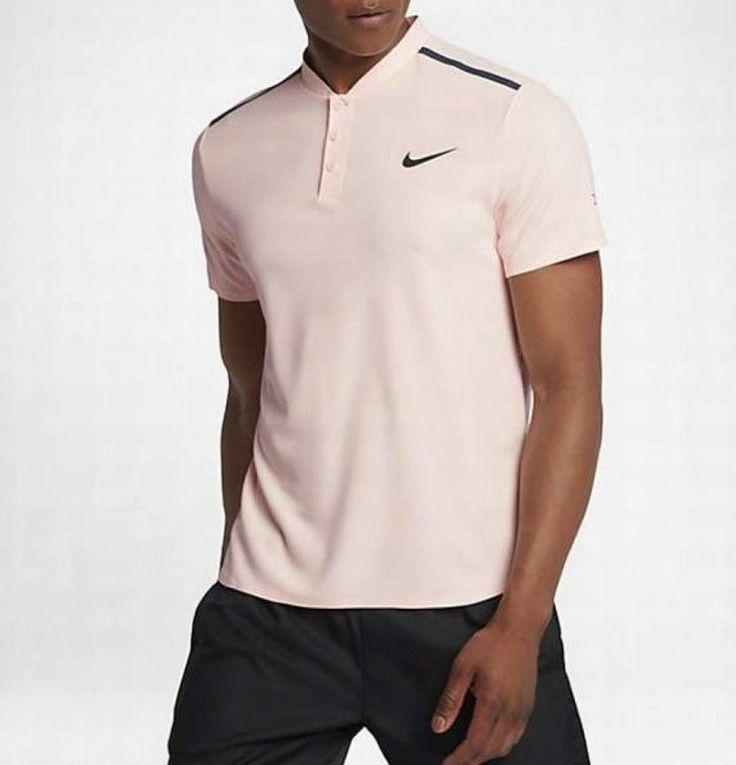 Nike NikeCourt RF Roger Federer Advantage Polo Shirt Tennis Large L 854611 658  #Nike #ShirtsTops