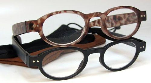 Opie Oval Reading Glasses In Vintage Matte