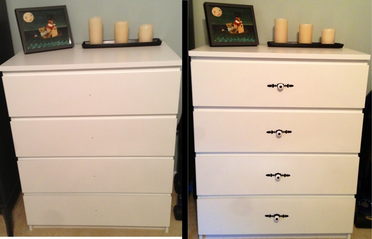 Before After Knobs And Ikea On Pinterest