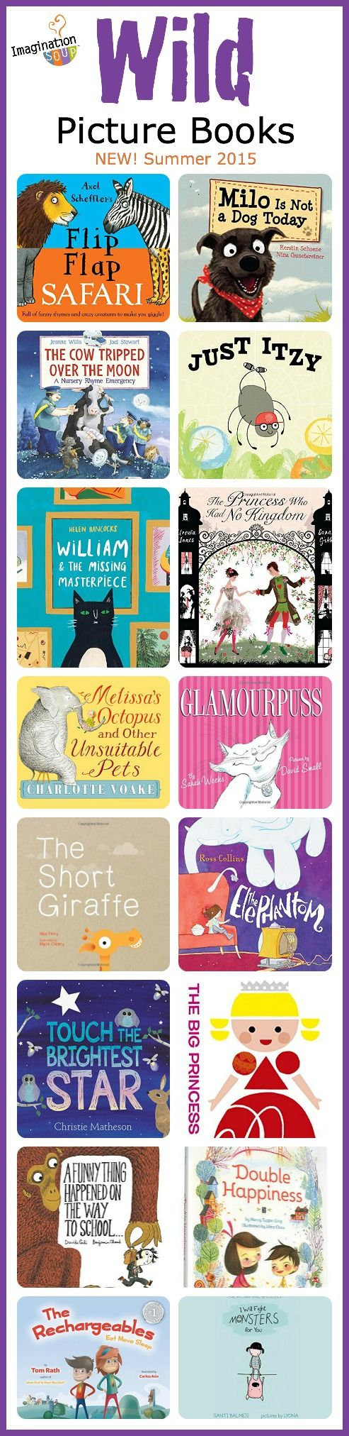 new picture books your kids will love, summer 2015