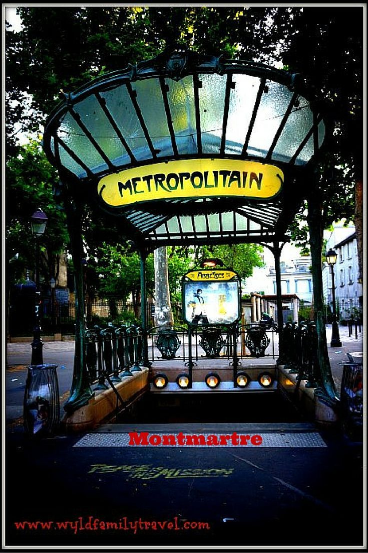 Exploring Montmartre is best done early in the morning