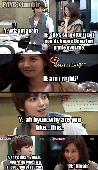 My favorite WGM couples . Yonghwa and Seohyun ♡ #WGM #YongSeo