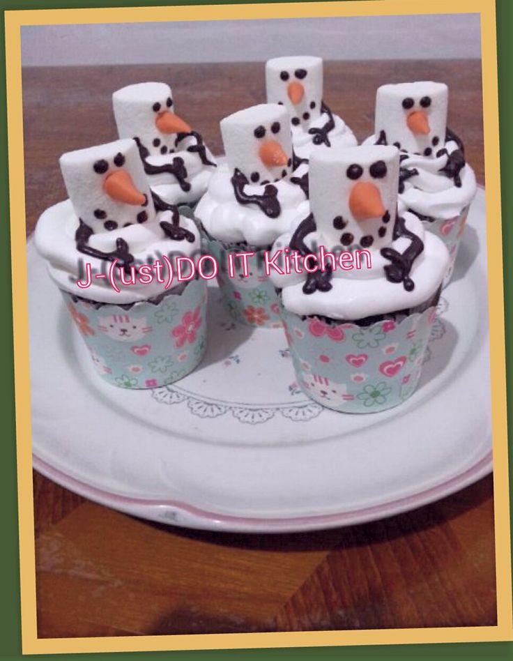 cup cake olaf
