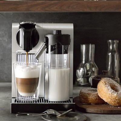Nespresso Delonghi Lattissima Pro Espresso Maker #williamssonoma