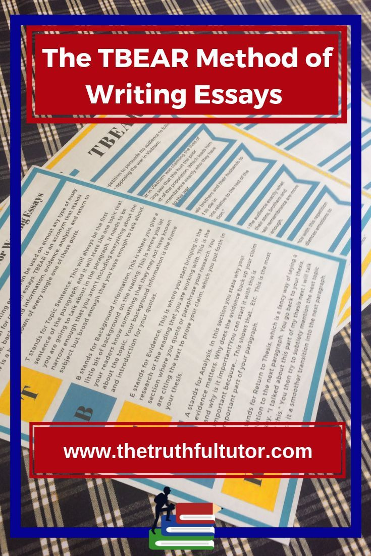Determination Essay Tbear Method For Writing Essays  English Language Arts  Writing Essay  Writing Teaching Writing The American Revolution Essay also Ancient Egypt Essays Tbear Method For Writing Essays  English Language Arts  Writing  Interesting Essay Topics For Teenagers