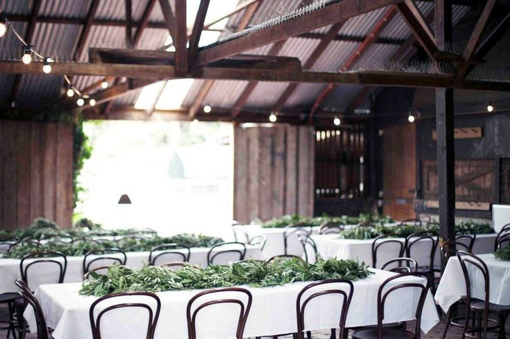 THE FARM CAFE // Melbourne, VIC // via #WedShed  http://www.wedshed.com.au/wedding_venues/farm-cafe-collingwood-childrens-farm/