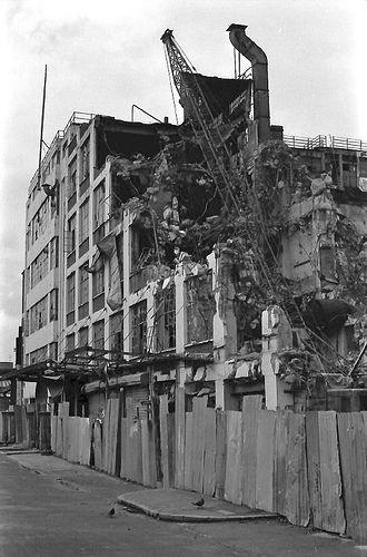 Samuel Jones' factory being demolished, Camberwell - Google Search