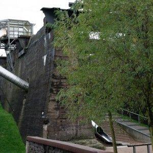 Slippery Slide at Landschaftspark Duisburg Nord by Latz + Partner
