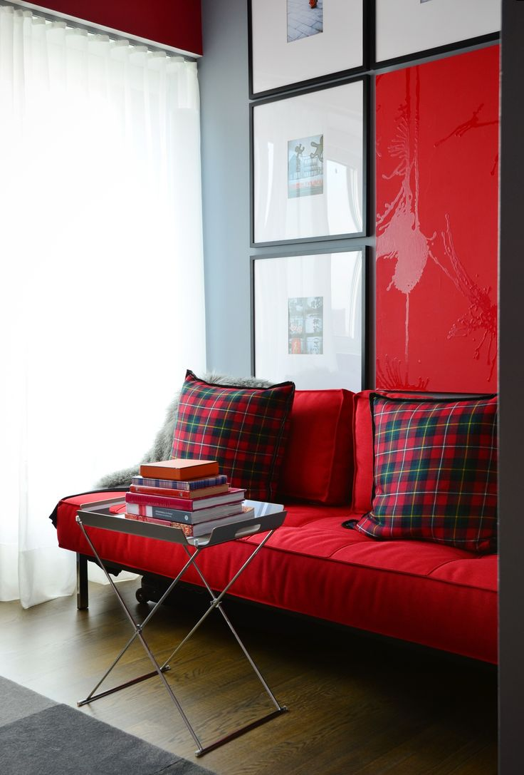Shopping Resources For An All Red Gray Modern Home HomesApartment TherapyHouse