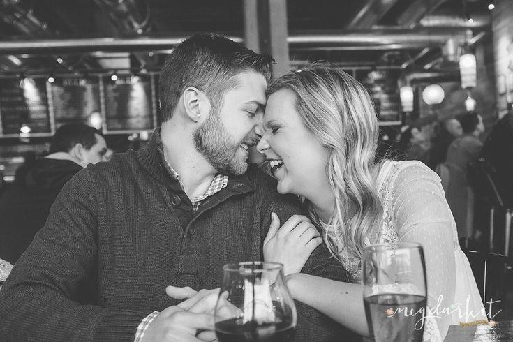 Detroit Wedding Photographer, Detroit Engagement Photographer, Detroit Weddings, Detroit, Detroit Engagement, 2016 Bride, Brewery Engagement Pictures, Detroit Engagement Pictures by Meg Darket Photography