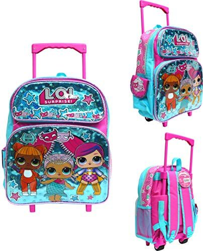 ccd47504da9c New L.O.L. Surprise! L.O.L Surprise! Small School Backpack 12 Rolling  Backpack Book Bag Blue LOL bag New lol online.   33.85  offerdressforyou  offers on top ...