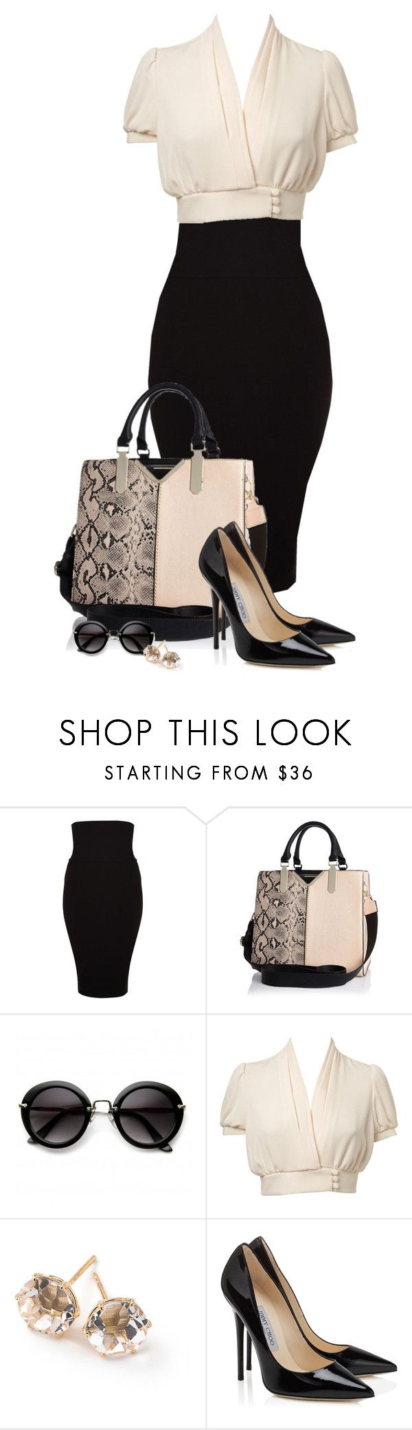 """Simple"" by missus-sara ❤ liked on Polyvore featuring Wolford, River Island, Miss Selfridge and Ippolita"