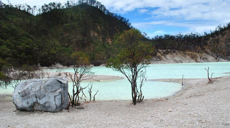 White Crater at Ciwidey - Bandung, Indonesia