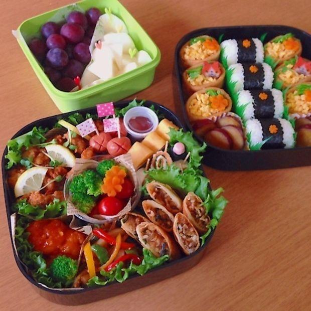 School sports day lunch box