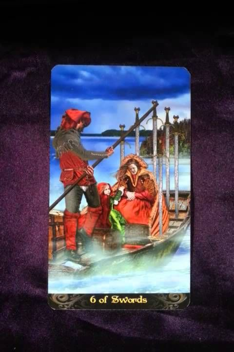 The coming week's reminder is brought to us by the Six of Swords When we are functioning optimally, the energies it represents for us would be transitioning ...