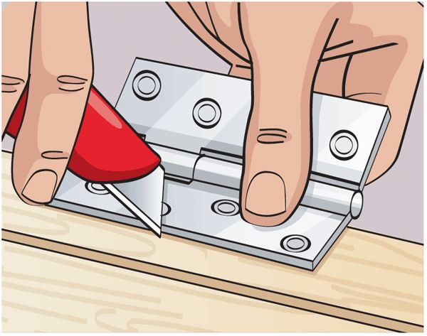How to fit a hinge to a door  Fitting hinges is the trickiest part of hanging a replacement door.It requires accurate measuring, and some basic carpentry skills.