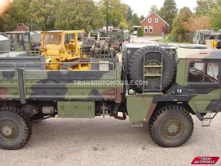 Trucks Flatbed Man KAT 1 4X4 https://www.transautomobile.com/en/export-man-kat/1591?PI
