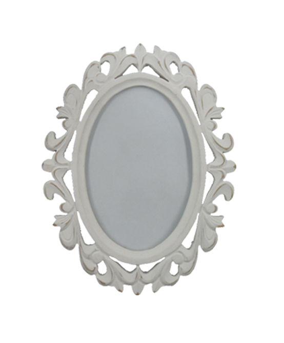 photo frame modern barok design fotolijst, zilver