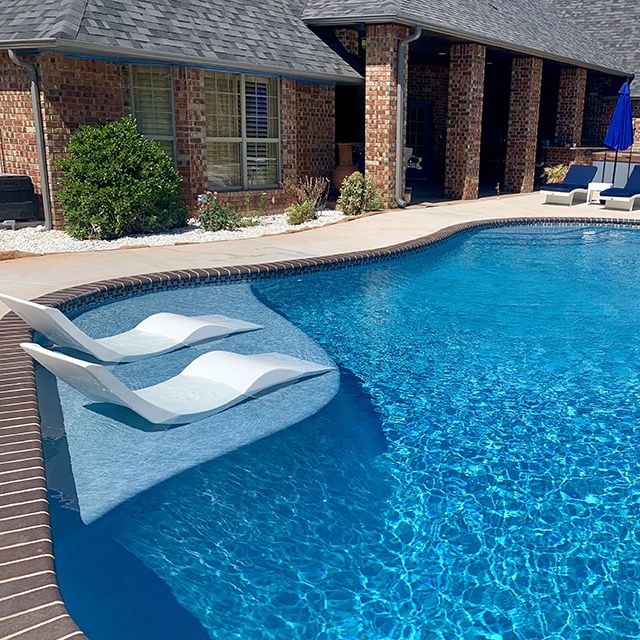 In Pool Chaise Lounge Chair 499 Each With In 2020 Indoor