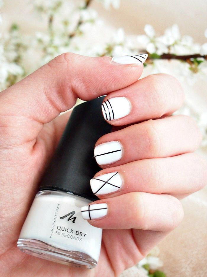 striped Mani