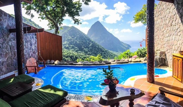 Paradise Between The Pitons at Ladera, Saint Lucia