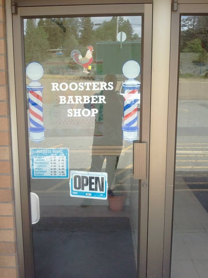 Roosters Barber Shop 13 - 11852 Hwy 97 N, Lake Country, BC  V4V 1E3 778-480-5622 #barbershop #haircuts #razor