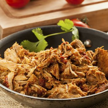 Shredded Pork with Guacamole in Tortillas   Free Pressure Cooker Recipe