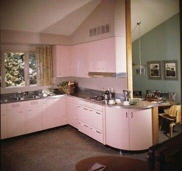 140 best Pink kitchens images on Pinterest | Pink kitchens, Pink ...