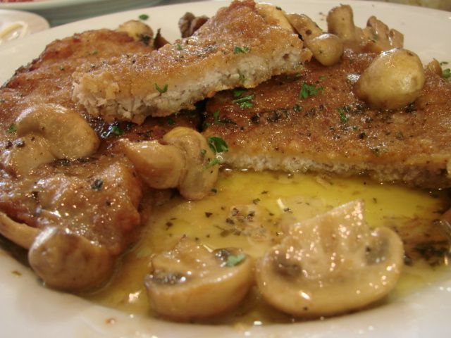 Veal Marsala, one of my favorite Italian meals.