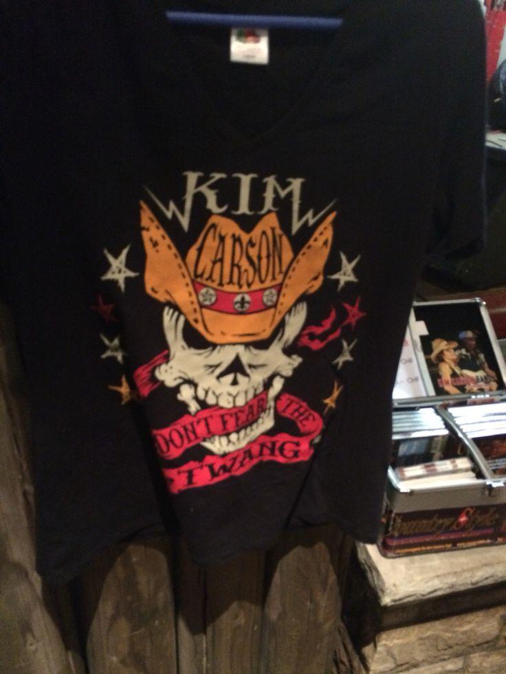 Fan T - Shirt 2016          Kim Carson