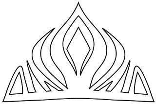 Corona de la Reina Elsa de Arendel