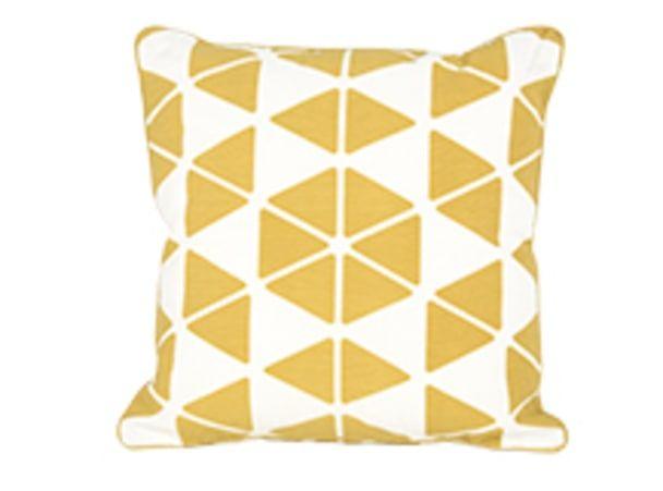 Trio Cushion 45 x 45cm, Mustard