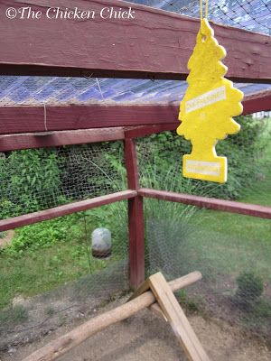 15 Tips to Reduce FLIES In & Around the Chicken Coop -- Community Chickens (pictured: vanilla scented air fresheners, some chicken-keepers swear by them)